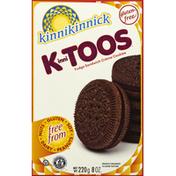 Kinnikinnick Cookies, Sandwich Creme, Fudge