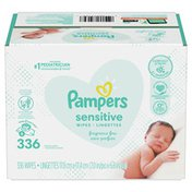 Pampers Baby Wipes Sensitive Perfume Free