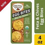 Organic Valley Feta and Chives Organic Egg Bites
