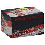 Rip It Energy Fuel Shot, Sugar Free, Red Zone Strawberry