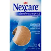 Nexcare Absolute Waterproof Adhesive Pad