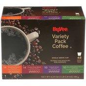 Hy-Vee Variety Pack Single Serve Cup Coffee