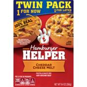 Hamburger Helper Cheddar Cheese Melt Twi