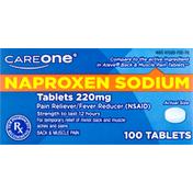 CareOne Naproxen Sodium, 220 mg, Tablets
