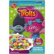 Post Dreamworks Trolls Rainbow Crunch Sweetened Corn Puff Dreamworks Trolls Rainbow Crunch Cereal