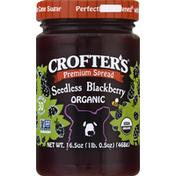 Crofter's Spread, Premium, Organic, Seedless Blackberry