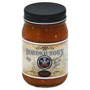 Border Town Salsa, Hot, Jar