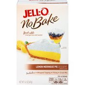Jell-O Lemon Meringue Pie Dessert Kit with Whipped Topping, Filling Mix & Crust Mix
