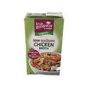 Meijer True Goodness Chicken Organic Low Sodium Broth