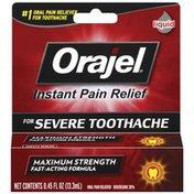 Orajel Severe Toothache Relief Liquid Toothache