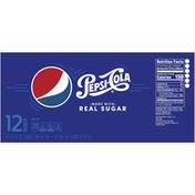 Pepsi Real Sugar Cola
