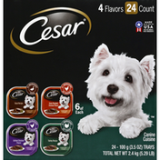 CESAR Wet Dog Food Variety Pack