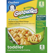Gerber Lil' Entrees, Chicken & Pasta Wheel Pickups in Sauce with Peas