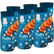 Gerber Puffs Sweet Potato Cereal Snacks