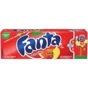 Fanta Fruit Punch 12 Oz Fridge Pack Soda