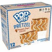 Kellogg's Pop-Tarts Pretzel Breakfast Toaster Pastries, Cinnamon Sugar