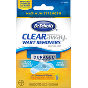 Dr. Scholl's Wart Removers, Maximum Strength