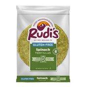 Rudi's Rocky Mountain Bakery Gluten Free Spinach Tortillas