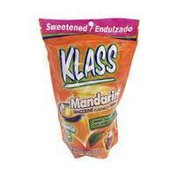 Klass Mandarin flavored drink mix