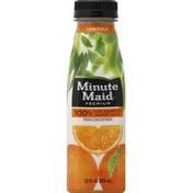 Minute Maid 100% Juice, Orange, Pure Squeezed, Low Pulp