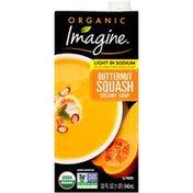 Imagine Organic Light in Sodium Butternut Squash Creamy Soup