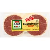 Jones Dairy Farm Liverwurst, Braunschweiger, Sandwich Slices