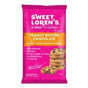 Sweet Lorens Cookie Dough, Place & Bake, Peanut Butter Chocolate