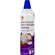 SB Whipped Topping, Dairy, Extra Creamy