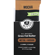 burn butter Grass Fed Butter, MCT Oil + Avocado, Mocha
