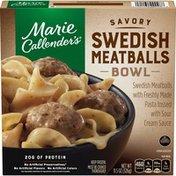 Marie Callender's Savory Swedish Meatballs Bowl