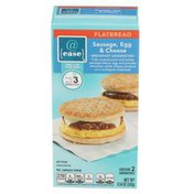 @ Ease Sausage, Egg & Cheese Breakfast Sandwiches