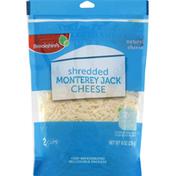 Brookshire's Cheese, Monterey Jack, Shredded