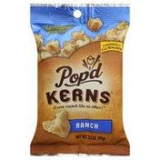 Pop'd Kerns Popped Corn Snack, Ranch