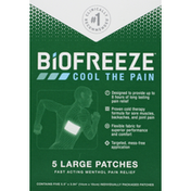 Biofreeze Pain Relief Patches