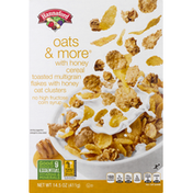 Hannaford Oats & More w/Honey Cereal