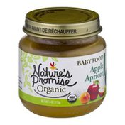 Nature's Promise Organic Baby Food Apple Apricot 6m+