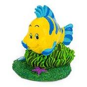 """Penn-Plax The Little Mermaid Flounder Mini Aquarium Ornament 1.5"""" L X 3"""" W X 3.75"""" H"""