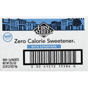First Street Sweetener, Zero Calorie, with Aspartame