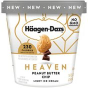 Haagen-Dazs HEAVEN Peanut Butter Chip Light Ice Cream