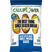 Caulipower Sea Salt & Olive Oil Sweet PotaTOASTS, Bread Replacement
