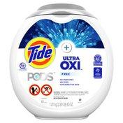 Tide Pods Plus Ultra Oxi Laundry Detergent Pacs