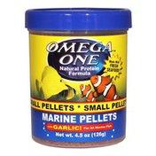 Omega One Garlic Marine Small Sinking Pellets