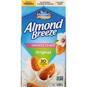 Almond Breeze Almond Beverage, Original, Unsweetened