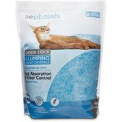 So Phresh Scoopable Blue Silica Odor-lock Clumping Micro Crystal Cat Litter