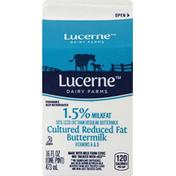 Lucerne Buttermilk, Cultured, Reduced Fat, 1.5% Milkfat