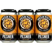 Worthy Beer, Pilsner, Sol Power