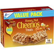 Honey Nut Cheerios Treat Bars, Value Pack, 16 Count