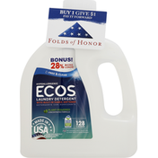 ECOS Laundry Detergent, with Built-In Fabric Softener, Hypoallergenic, HE