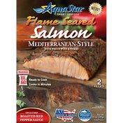 Aqua Star Flame Seared Mediterranean-Style Salmon