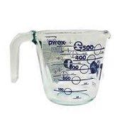 Pyrex Measuring Cup, Glass, 16 oz